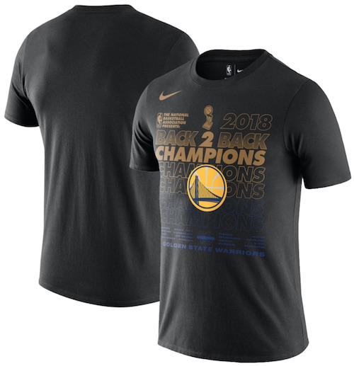 2018 Golden State Warriors NBA Finals Champions Memorabilia Guide 1