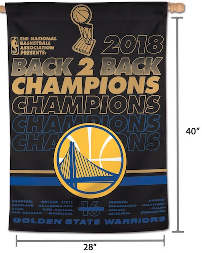 2018 Golden State Warriors NBA Finals Champions Memorabilia Guide 9