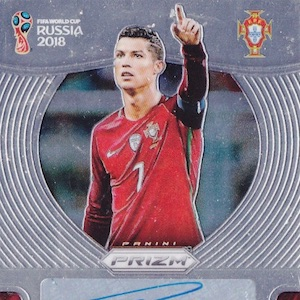 Top Cristiano Ronaldo Cards Best Rookie Cards Hot List Autographs