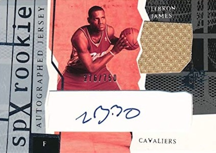 LBJ Heads to LA! Top LeBron James Rookie Cards of All-Time 7