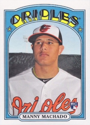 Manny Machado Rookie Cards Checklist and Guide 13