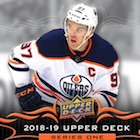 2018-19 Upper Deck Series 1 Hockey Cards