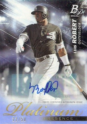 2018 Bowman Platinum Baseball Cards 38