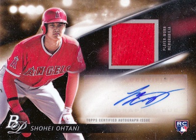 Shohei Ohtani Rookie Cards Checklist and Gallery 12