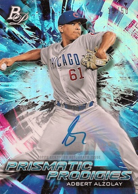 2018 Bowman Platinum Baseball Cards 40
