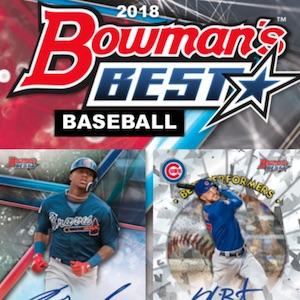 2020 Bowmans Best 2018 Bowman's Best Baseball Checklist, Set Info, Boxes, Release Date