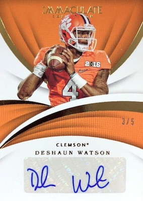 2018 Immaculate Collection Collegiate Football Cards 27