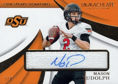 2018 Immaculate Collection Collegiate Football Cards 33