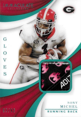 2018 Immaculate Collection Collegiate Football Cards 41