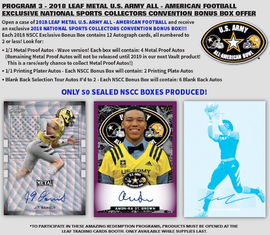 2018 National Sports Collectors Convention Guide 47