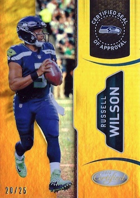 2018 Panini Certified Football Cards 36
