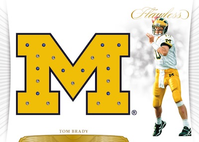 2018 Panini Flawless Collegiate Football Cards 5