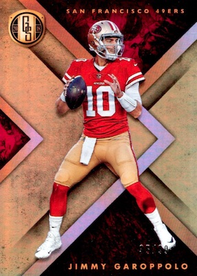 2018 Panini Gold Standard Football Cards 3