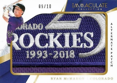 2018 Panini Immaculate Collection Baseball Cards 5