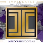 2018 Panini Impeccable Football Cards