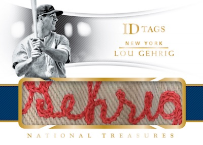 2018 Panini National Treasures Baseball Cards 6