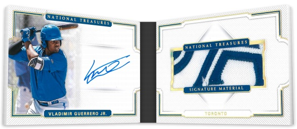 2018 Panini National Treasures Baseball Cards 9