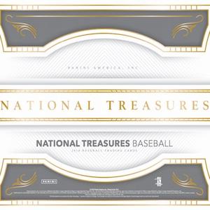 7293a31b0a0 2018 Panini National Treasures Baseball Checklist, Set Info, Boxes, Date