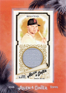 2018 Topps Allen & Ginter Baseball Cards 7