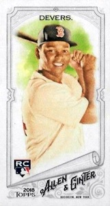 2018 Topps Allen & Ginter Baseball Cards 4