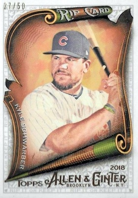 2018 Topps Allen & Ginter Baseball Cards 8