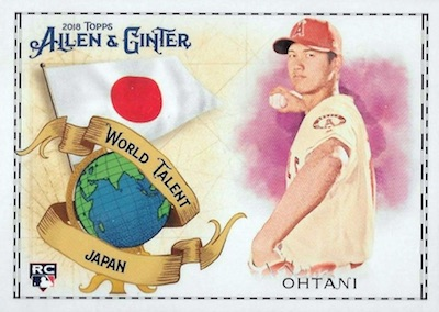 2018 Topps Allen & Ginter Baseball Cards 46