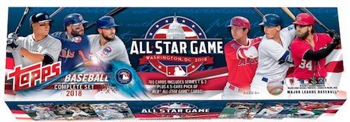 2018 Topps Baseball Complete Factory Set Breakdown 5