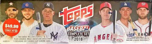 2018 Topps Baseball Complete Factory Set Breakdown 7