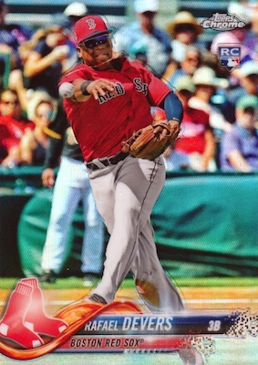 2018 Topps Baseball Factory Set Chrome Rookie Variations Gallery 7