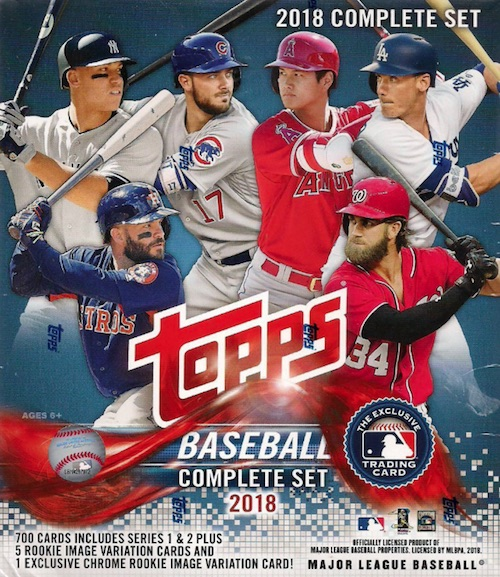 2018 Topps Baseball Complete Factory Set Breakdown 8