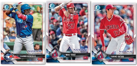 2018 Topps Bowman Chrome National
