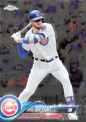 2018 Topps Chrome Baseball Variations Refractor Guide 13