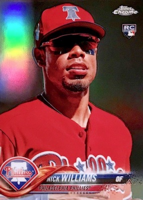 2018 Topps Chrome Baseball Variations Refractor Guide 36