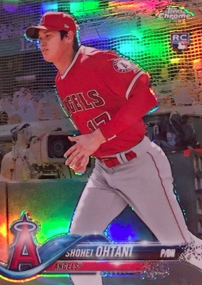 2018 Topps Chrome Baseball Variations Refractor Guide 40
