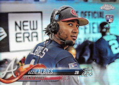 2018 Topps Chrome Baseball Variations Refractor Guide 2