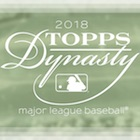 2018 Topps Dynasty Baseball Cards