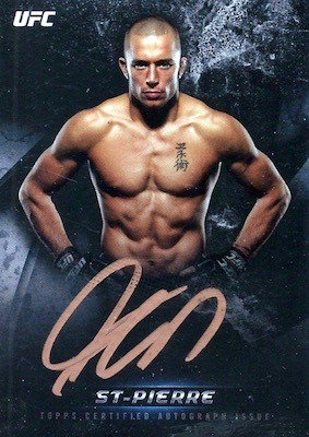 2018 Topps UFC Knockout MMA Cards 28