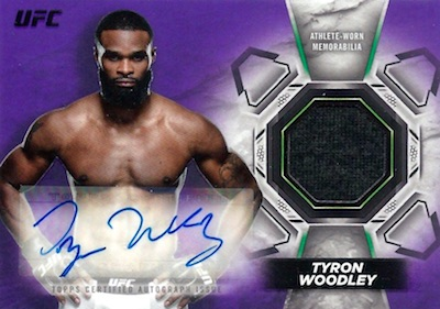 2018 Topps UFC Knockout MMA Cards 5