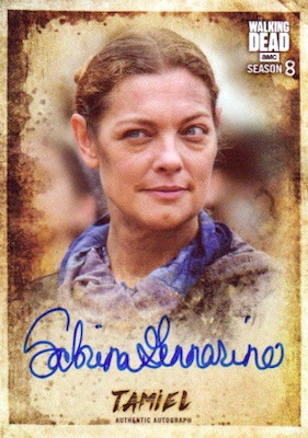 Topps Walking Dead Season 8