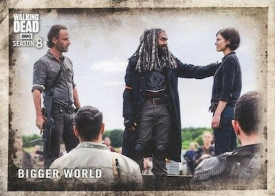 2018 Topps Walking Dead Season 8 Part 1 Trading Cards 3
