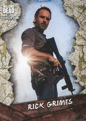 Topps Walking Dead Season 8