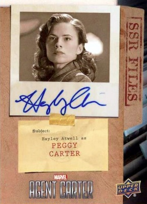 2018 Upper Deck Agent Carter