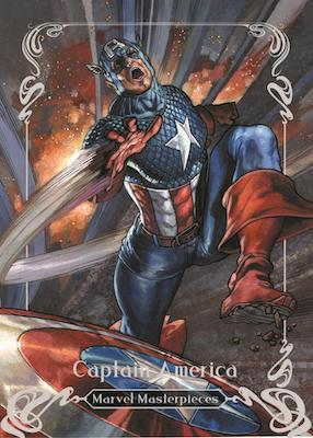 2018 Upper Deck Marvel Masterpieces Trading Cards 3