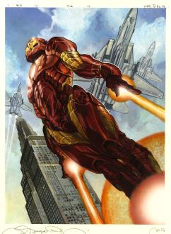2018 Upper Deck Marvel Masterpieces Trading Cards 6