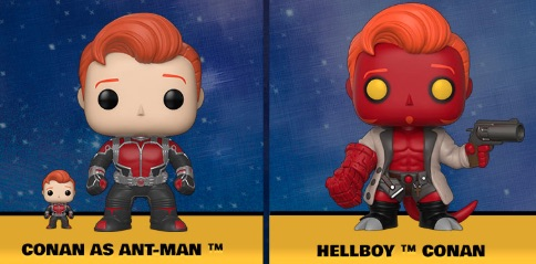 Ultimate Funko Pop Conan O'Brien Figures Checklist and Gallery 2