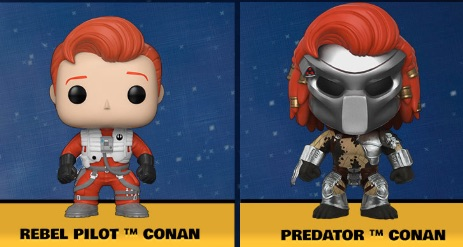 Ultimate Funko Pop Conan O'Brien Figures Checklist and Gallery 1