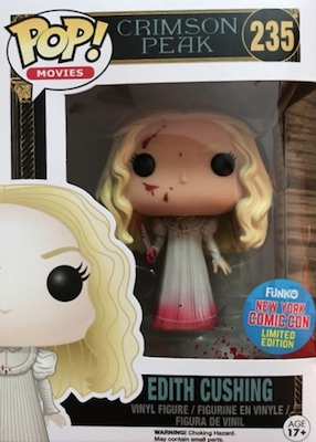 Funko Pop Crimson Peak Vinyl Figures 24