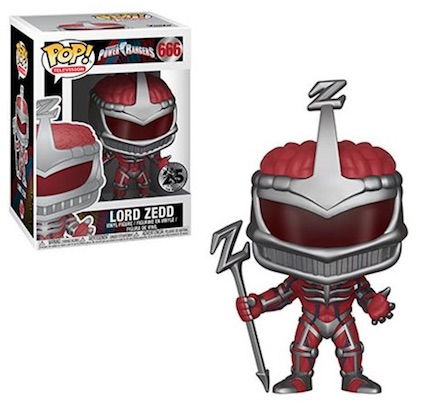Ultimate Funko Pop Power Rangers Figures Gallery and Checklist 36