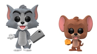 Funko Pop Tom and Jerry Vinyl Figures 1