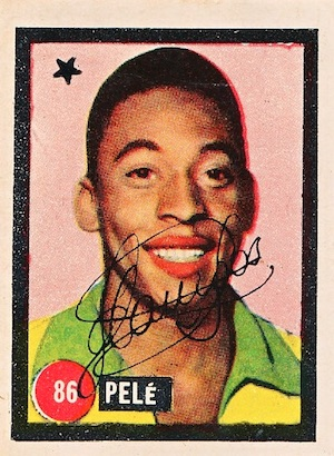 Pelé Rookie Cards Gallery and Autograph Memorabilia Guide 3